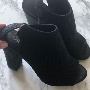 Cato Black Booties -Size 7
